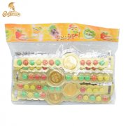 CT1283-1 watch shaped chocolate coin & chocolate be