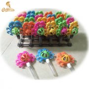 CT3036-B crab shaped bell toy candy