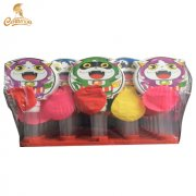 CT3038-D cartoon cat shaped balloon whistle