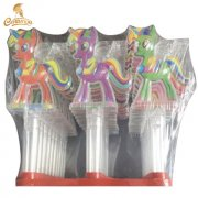 CT3063-A unicorn whistle toy candy